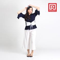 Beli Ramayana Jj Jeans Blouse Corset Crepe Catarina Navy Jj Jeans 07970907 Jj Jeans Online