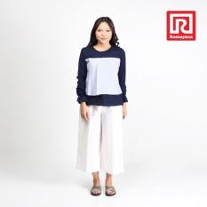 Beli Ramayana Jj Jeans Blouse Kombinasi Salur Navy Jj Jeans 07971438 Secara Angsuran