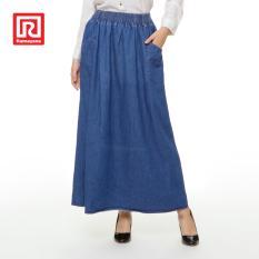 Ramayana Jj Jeans Rok Denim Panjang Basic Biru Muda Jj Jeans Diskon
