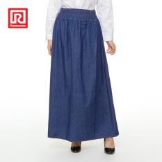 Jual Ramayana Jj Jeans Rok Denim Panjang Basic Navy