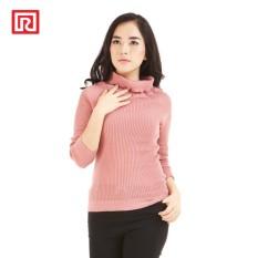 Harga Ramayana Pink By Jj Sweater Rajut Kerah Lipat Dusty Pink Dan Spesifikasinya