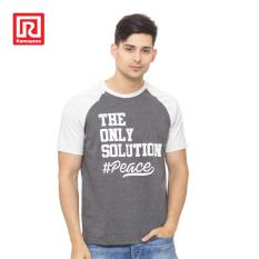 Ramayana - RAF - Kaos T-shirt Raglan #Peace Cotton Abu