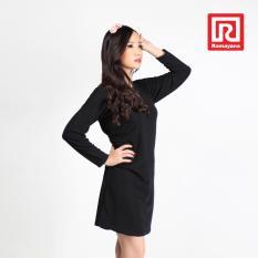 Toko Ramayana Vannisa Dress Wanita Basic Lengan Panjang Babat Kulit Kayu Hitam Vannisa 07972361 Terlengkap