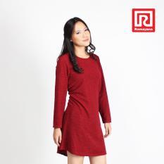 Jual Ramayana Vannisa Dress Wanita Basic Lengan Panjang Babat Kulit Kayu Maroon Vannisa 07972375 Online Di Indonesia