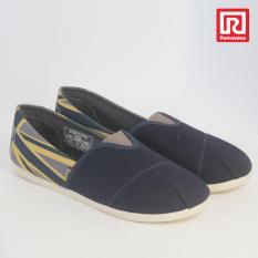 Harga Ramayana Worldstar Sepatu Slip On Pria Motif Bendera Kain Kanvas Warna Biru Laut Kombinasi Abu Worldstar 07971352 Lengkap