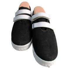 Obral Random House Chello Sepatu Slip On Hitam Murah