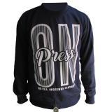 Jual Random House Sweater Mozza Clothing Biru
