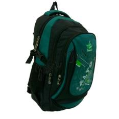 Ransel backpack Alto JV_JV-71824A-1 hitam tosca + weather shield