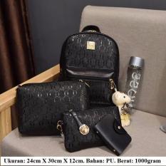 Miliki Segera Ransel Set 4In1 Boneka Cantik Ransel Cantik Mini Ransel Boneka Murah Ransel Cewek Backpack
