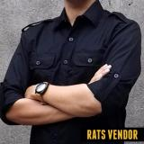 Beli Rats Vendor Kemeja Outdoor Pdl Lengan Panjang Hitam Online Terpercaya
