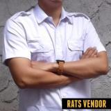 Diskon Rats Vendor Kemeja Outdoor Pdl Lengan Pendek Putih Branded