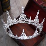 Jual Cepat Ratu Mempelai Wanita Besar Bulat Mewah Asesoris Kepala