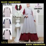 Review Ratu Shopping Gamis Payung Moss Crepe Busui Xl Xxl Lgk2034 Terbaru