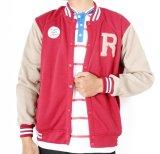 Cara Beli Rawks Redborn Varsity Jacket Merah