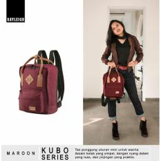 Review Pada Rayleigh Kubo Multifunction Bag Maroon