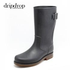 Jerman Segala Medan Pria Di Gaotong Sepatu Boots Hujan Modis Raytheon Pancing Ikan Sepatu Bot Hujan Sepatu Anti Air Sepatu Sepatu Karet Sepatu Anti Air Pasang