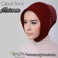 Razha Ciput Soul Anti Tembem Maroon