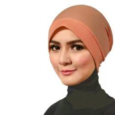 Razha Inner Ciput Jazzy Daleman Jilbab Pastel Orange