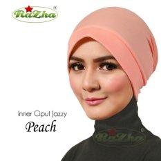 Razha Inner Ciput New Jazzy Daleman Jilbab Peach
