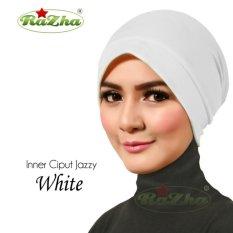 Razha Inner Ciput New Jazzy Daleman Jilbab White Putih