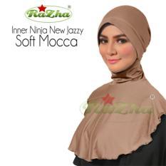 Razha Inner Ninja Jazzy Daleman Jilbab Pad Soft Mocca
