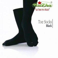 Promo Razha Toe Socks Kaos Kaki Jempol Hitam Razha Terbaru