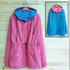 Katalog Rch Jaket Bolak Balik Pink Turkis Terbaru