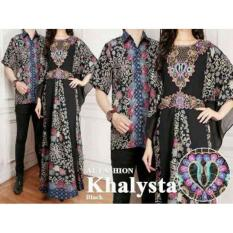 RB-READY BAJU KAFTAN COUPLE  KHALYSTA HITAM