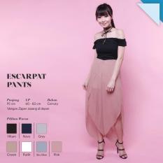 Ready Bawahan Wanita Murah Surabaya Celana Escarpat Pants Pink