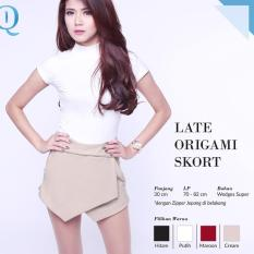 Ready Blouse Wanita Murah Surabaya Late Origami Skort Cream Wedges Sup