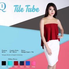 Ready Blouse Wanita Murah Surabaya Tile Tube Red