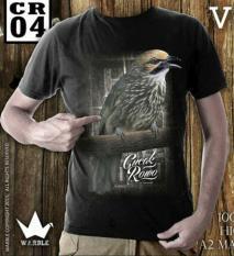 Ready Kaos Burung Unisex Murah Surabaya 003 Soft Katun Dingin