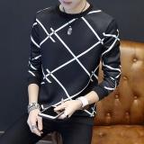 Beli Ready Stock Lengan Panjang T Shirt Pria Tipis Youth Trend Dari Korea Pria Sweater Coat Pakaian Longgar Intl Dengan Kartu Kredit