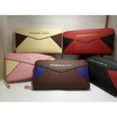 Ready Tas Dompet Wanita Cewek Branded Import Charles And Keith Ck Wallet