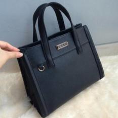 Ready Tas Wanita Cewek Branded Handbag Bag Charles N Keith Ck Bamboo Black