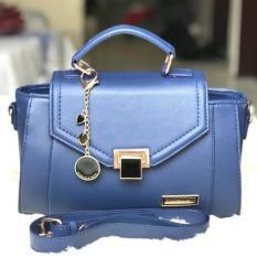 Ready Tas Wanita Cewek Branded Handbags Charles N Keith Ck Ashanty Navy