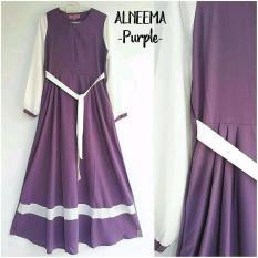 REAL PICT ALNEEMA DRESS BALOTELLY TERMURAH