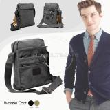 Spesifikasi Real Picture 6 Sap Tas Selempang Pria Keren Kanvas Sling Bag Shoulder Bag 160813 Black Hai Lan Da