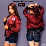 Beli Rebel Id Bomber Jaket Wanita Maroon Murah