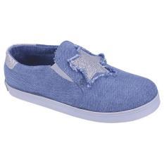 Recommended Sepatu Slip On Anak Perempuan Biru Jawa Barat Diskon 50