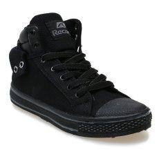 Spesifikasi Record Cantona M Sepatu Sneakers Hitam Abu Abu Terbaik