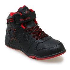 Harga Record Lion Star M Sepatu Sneakers Hitam Merah Yang Murah Dan Bagus