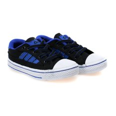 Spesifikasi Record Roadking Xs Sepatu Sneakers Hitam Biru