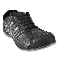 Jual Record Sepatu Sneakers Evalia Hitam Import