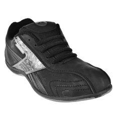 Jual Record Sepatu Sneakers Safira Hitam Di Bawah Harga
