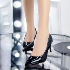 Merah Tinggi Tumit Sepatu Ujung Runcing Gaun Sepatu Pernikahan Sepatu Pria-Internasional