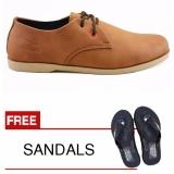 Spek Redknot Azza Tan Bonus Sandal