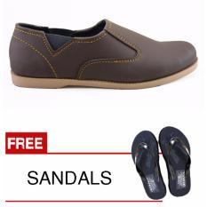 Promo Toko Redknot Fiddle Coklat Bonus Sandal