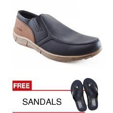 Toko Jual Redknot Grovers Black Sepatu Pria