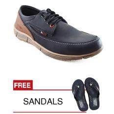 Beli Redknot Hagy Black Sepatu Pria Pakai Kartu Kredit